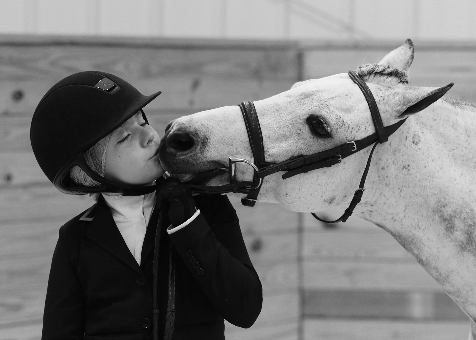 Pony and girl love